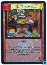 Harry Potter TCG Quidditch Cup No Time To Play FOIL 17/80