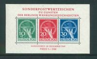 Luxus Berlin Währungsgeschädigten Block 1 - ** postfrisch - Mi. 950,-