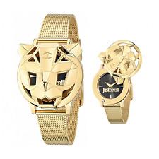 Orologio JUST CAVALLI mod. TIGER ref. R7251561501 Donna acciaio dorato tessito