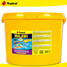 Tropical 11 L Malawi Flakes Food For Malawisee-Cichliden Der Mbuna-Gruppe