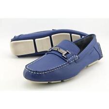Scarpe da uomo blu mocassini Calvin Klein