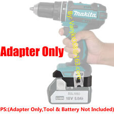 1x Adapter Fits HITACHI 18V Li-Ion Battery For Makita 18V LXT Tool- Adapter Only