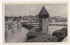 Switzerland, Kapellbrucke und Wasserturm Postcard, B211