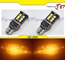 LED Light Canbus Error Free 921 Orange Amber Two Bulbs Trunk Backup Reverse Dome