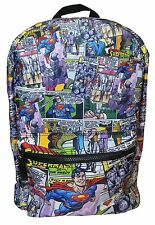 Official DC Superman Comic Book Pop Art Style Backpack - Last One