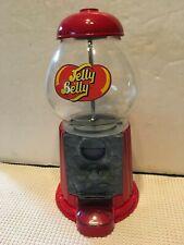 "Vintage Jelly Belly Gum Ball Machine 9"" H WORKS!"