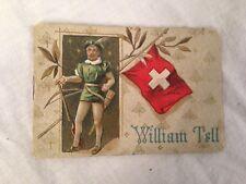 Colman's Christmas Miniature Book, WILLIAM TELL, Chromolithograph Advertising