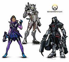 Warp Gadgets Overwatch Bundle - Figpin - Genji, Reaper and Sombra -...