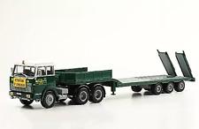 HANOMAG HENSCHEL F 221 / F221 + semi- remorque lowboy 1/43 Camión Truck Camions