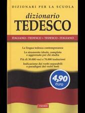 DIZIONARIO TEDESCO ITALIANO  AA VV VALLARDI 2012 DIZIONARI PER LA SCUOLA