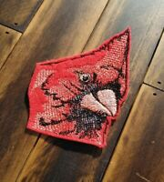 Patch Iron-on Cardinal Embroidered Applique Bird