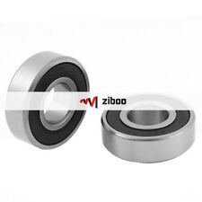 2Pcs 6204RS Electric Motor Roller-Skating Deep Groove Ball Bearing 14x47 mmx20mm