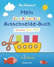 Mein kunterbuntes Ausschneide-Buch Nico Sternbaum
