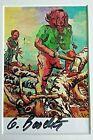 GEORG BASELITZ - Meißner Forest Worker (1967) - SIGNED FRAMED RARE