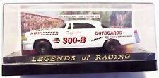Legends of Racing 1956 Chrysler 300 Race Car Buck Baker Die-Cast 1:43 Case Toy