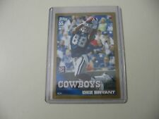 2010 Topps Gold Dez Bryant RC Rookie #ed 124/2010