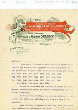 Paris XI ème - Superbe Entête Art Nouveau dans le Secteur de la Publicité - 1910