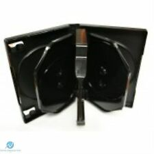 5 X 8 Way Nero DVD 26mm DORSO contiene 8 DISCHI VUOTI nuovo caso di sostituzione HQ AAA