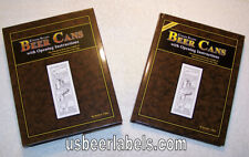 Lilek Book Set - U.S. Beer Cans with Opening Instructions - (Nos) Out of Print