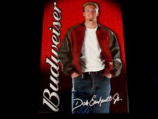 Dale Earnhardt Jr Budweiser Beer Nascar Racing Poster Daytona Winner