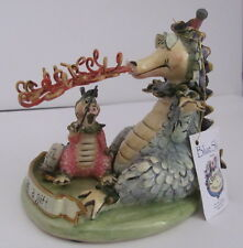 DRAGON  Everyone has a Gift  Clayworks Blue Sky Heather Goldminc NIB
