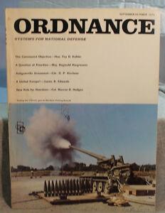 vtg old ORDNANCE military USN U.S army weapons magazine january-february 1970