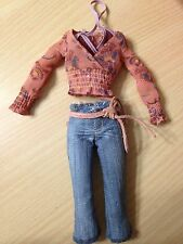 Barbie Cali Girl Horseback Riding Lea Cowgirl Doll Belted Capris Pants Outfit