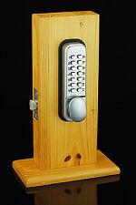 Mechanical Lockey Keyless Programmablel Digital Numberal Deadbolt Door Lock