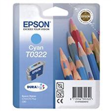2x ORIGINALE EPSON CARTUCCIA T0323 MAGENTA PER STYLUS C70 PLUS C80