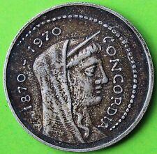 ITALIE 1000 LIRES CONCORDIA 1970