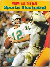 First BOB GRIESE Sports Illustrated 1973 MIAMI DOLPHINS Football Purdue NO LABEL