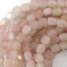 """10mm rose quartz nugget beads 15"""" strand"""