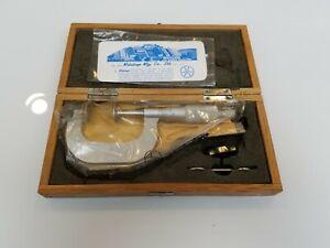 Brand New, Original Mitutoyo Disc Micrometer, Model 123-126