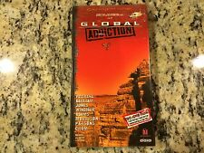 GLOBAL ADDICTION 2002 RARE NEW VHS! MOTOCROSS FREESTYLE MIKE METZGER, CARY HART!