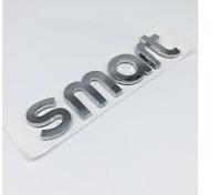 SMART Emblem Neu  Logo Zeichen Aufkleber Heckklappe Schriftzug Silber