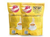 Caffè al Ginseng 2 buste - 40 monodose prodotto solubile