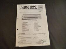 ORIGINALI service manual Grundig V 7200