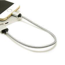 30 cm Trenzado  Micro USB Data Sync Cable Cargador móvil Android njh
