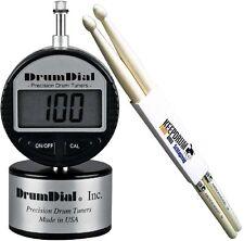 DRUM DIAL DDD Tuner Schlagzeug Stimmgerät + Keepdrum Drumsticks 1 Paar