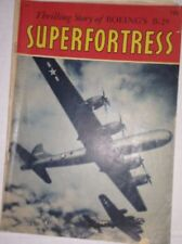 Superfortress Magazine Boeing B-29 1960s 010217RH
