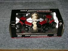 ERTL 1/64 CASE IH 7250 AND MX285 MAGNUM MILESTONES TRACTOR SET