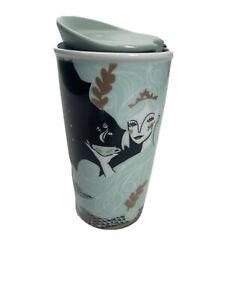 Starbucks 2018 Holiday Mermaid Double Wall Travel Tumbler 12 Oz