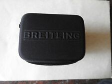 NEW BREITLING WATCH TRAVEL CASE IN BLACK