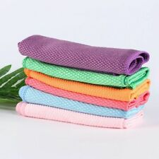 Cleaning Rags Household Glass Window Cloth Kitchen Washing Towels Scouring Pad