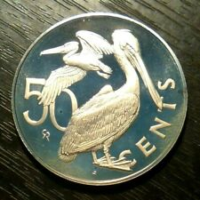 1973 BRITISH VIRGIN ISLANDS PROOF 50 CENTS -
