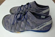 Merrell Mens Trail Glove 4 Knit Shoes Trainers Sneakers blue grey Sports size 9
