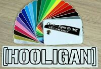 HOOLIGAN Outlined Car Sticker Vinyl Decal Adhesive Window Bumper Tailgate BLACK
