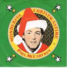 7inch PAUL McCARTNEYwonderful christmastimeHOLLAND EX  (S0362)