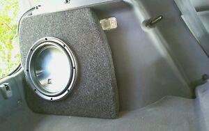 EMPTY! Honda Civic Hatch 1995-2000 10inch sub Fibreglass subwoofer box