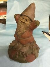"""Tom Clark Gnome Cairn Collection Gnome """"Miles"""" #1125-1987-kh"""